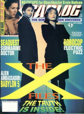 STARLOG magazine #202 1994 Stephanie Beacham SEAQUEST David Duchovny  ref100691 Pre-owned in very good condition. Magazine ONLY