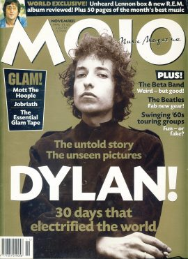 MOJO Music magazine November 1998 DYLAN  ref101555 Good Condition. This is a pre-owned item with some marks