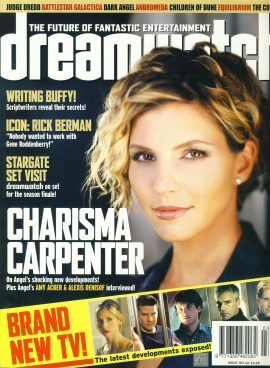 dreamwatch #103 Charisma Carpenter