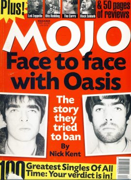 MOJO Music magazine December 1997 OASIS ref101556 Good Condition. This is a pre-owned item with some marks