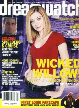 dreamwatch #95 Wicked Willow! Alyson Hannigan