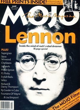 MOJO Music magazine MAY 1997 LENNON with 2 prints inside ref101559 Good Condition. This is a pre-owned item with some marks