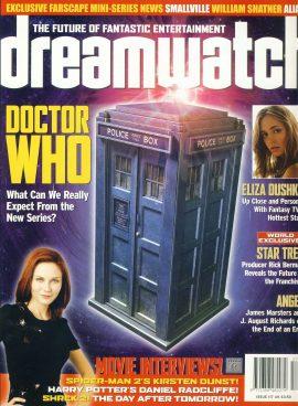 dreamwatch #117 DOCTOR WHO Eliza bushku