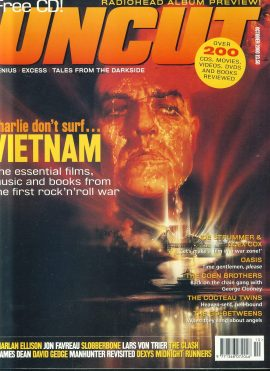 UNCUT Magazine OCTOBER 2000 VIETNAM Coen Brothers ref100276 Music and Movies magazine. Sorry No CD.  Pre-owned in very good condition for age. Please see larger photo and full description for details.
