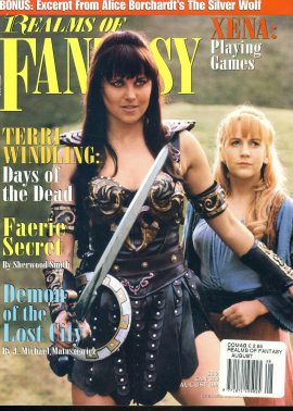Realms of Fantasy magazine XENA Terri Windling Days of the Dead ref100615 Pre-owned in good condition. Magazine ONLY
