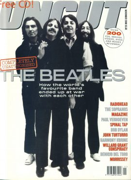 UNCUT Magazine NOVEMBER 2000 The Beatles ref100277 Music and Movies magazine. Sorry No CD.  Pre-owned in very good condition for age. Please see larger photo and full description for details.