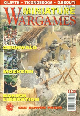 Miniature WARGAMES #230 GRUNWALD Mockern DANISH LIBERATION Kilsyth TICONDEROGA Djibouti magazine ref101390 Pre-owned in very good condition. Magazine ONLY