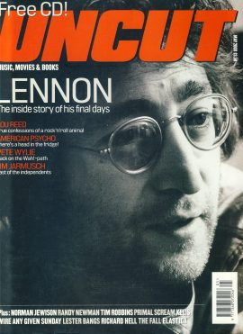 UNCUT Magazine MAY 2000 John Lennon ref100284 Music and Movies magazine. Sorry No CD.  Pre-owned in very good condition for age. Please see larger photo and full description for details.