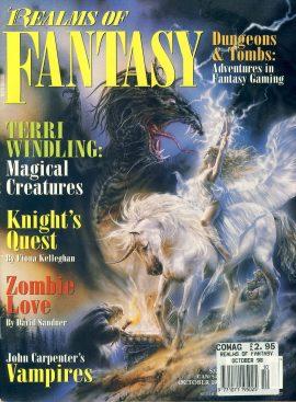 Realms of Fantasy magazine 1998 Magical Creatures