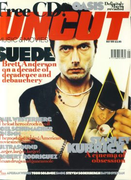 UNCUT Magazine MAY 1999 Suede Brett Anderson ref100287 Music and Movies magazine. Sorry No CD.  Pre-owned in very good condition for age. Please see larger photo and full description for details.