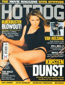 HOTDOG Movie Magazine MAY 2004 Kirsten Dunst ref100294  Pre-owned in very good condition for age. Please see larger photo and full description for details.