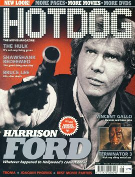 HOTDOG Movie Magazine AUG 2003 #39 Harrison Ford ref100297  Pre-owned in very good condition for age. Please see larger photo and full description for details.