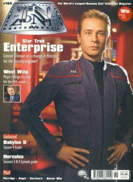TV Zone magazine #169 Connor Tinneer