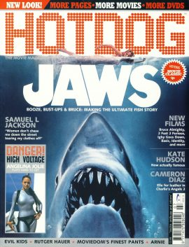 HOTDOG Movie Magazine #38 JAWS Samuel L Jackson ref100301  Pre-owned in very good condition for age. Please see larger photo and full description for details.