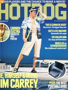 HOTDOG Movie Magazine OCT 2000 Jim Carrey ref100302  Pre-owned in very good condition for age. Please see larger photo and full description for details.