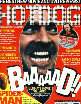 HOTDOG Movie Magazine Issue 25 Spider Man ref100304  Pre-owned in very good condition for age. Please see larger photo and full description for details.
