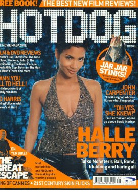 HOTDOG Movie Magazine Issue 24 Halle Berry ref100306  Pre-owned in very good condition for age. Please see larger photo and full description for details.