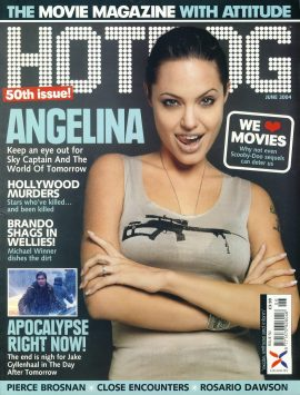 HOTDOG Movie Magazine JUNE 2004 ANGELINA JOLIE ref100308  Pre-owned in very good condition for age. Please see larger photo and full description for details.