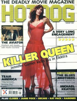 HOTDOG Movie Magazine JAN 2005 Jennifer Garner ELEKTRA ref100309  Pre-owned in very good condition for age. Please see larger photo and full description for details.