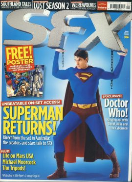 SFX magazine June 2006 Superman Returns! Michael Moorcock