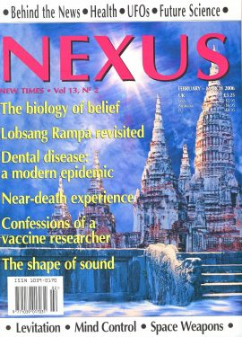 NEXUS New Times magazine Biology of Belief