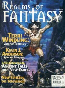 Realms of FANTASY magazine Terri Windling