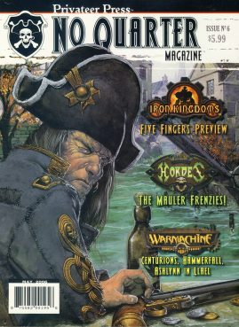 Privateer Press No Quarter magazine Issue no.6 2006 Five Finger's Preview
