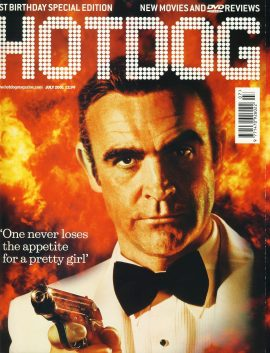 HOTDOG Movie Magazine JULY 2001 Sean Connery BOND ref100317  Pre-owned in very good condition for age. Please see larger photo and full description for details.