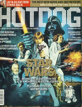 HOTDOG Movie Magazine DEC 2001 STAR WARS ref100319  Pre-owned in very good condition for age. Please see larger photo and full description for details.