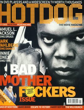 HOTDOG Movie Magazine JAN 2002 Samuel L Jackson ref100320  Pre-owned in very good condition for age. Please see larger photo and full description for details.