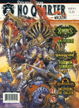 Privateer Press No Quarter magazine Issue no.5 2006 Hordes Unleashed! Warmachine IRON KINGDOMS Uncovering the Orgoth ref101394 Fantasy Board Games Magazine. Pre-owned in very good condition. Magazine ONLY