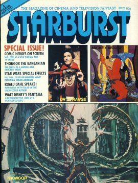 STARBURST Cinema & Television magazine Fantasy No.26  COMIC HEROES ref100327 Pre-owned in very good condition. Please see larger photo and full description for details.