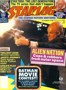STARLOG magazine #136 1988 Jock Mahoney TARZAN