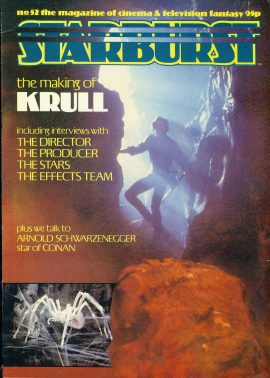 STARBURST Cinema & Television magazine No.52 KRULL ref100333 Pre-owned in good condition. Please see larger photo and full description for details.