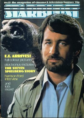 STARBURST Cinema & Television magazine No.53 E.T. STEVEN SPIELBERG STORY ref100334 Pre-owned in good condition. Please see larger photo and full description for details.