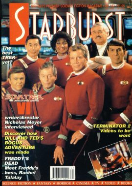 STARBURST Science Fiction magazine No.162 STAR TREK UNDISCOVERED COUNTRY ref100335 Pre-owned in very good condition. Please see larger photo and full description for details.