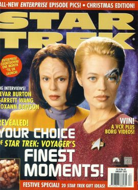 STAR TREK Monthly magazine 2001 Christmas Edition ROXANN DAWSON ref100338 Pre-owned in very good condition. Please see larger photo and full description for details.