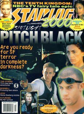 STARLOG 2000 magazine #272 Gina Torres