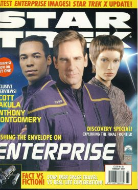 STAR TREK Monthly magazine FEB 2002 Scott Bakula