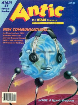 Antic ATARI magazine NOV 1985 Vol.4 #7 NEW COMMUNICATIONS ref101158 Pre-owned in good condition. Magazine ONLY