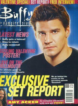 Buffy the Vampire Slayer Magazine AMY AKCER