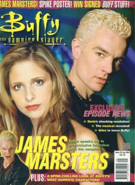 Buffy the Vampire Slayer Magazine 2002 JAMES MARSTERS ref10034 Pre-owned in very good condition. Please see larger photo and full description for details.