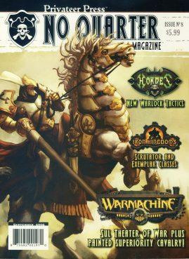 Privateer Press No Quarter magazine Issue no.8 Hordes New Warlock Tactics