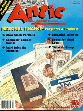 Antic ATARI magazine FEB 1984 Vol.2 #11 PERSONAL FINANCE PROGRAMS & PRODUCTS ref101166 Pre-owned in good condition. Magazine ONLY