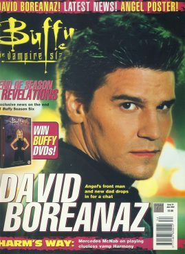Buffy the Vampire Slayer Magazine 2002 DAVID BOREANAZ ref10364 Pre-owned in very good condition. Please see larger photo and full description for details.