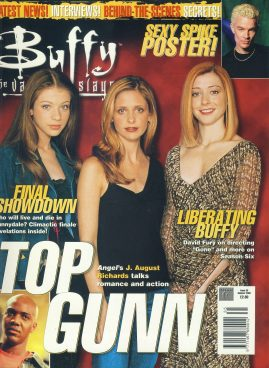 Buffy the Vampire Slayer Magazine 2002 J.AUGUST RICHARDS ref10364 Pre-owned in very good condition. Please see larger photo and full description for details.