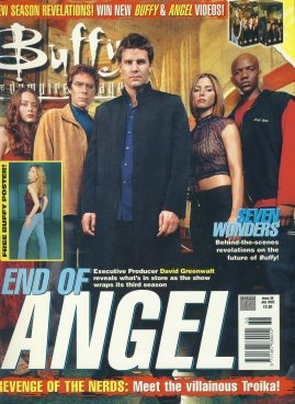 Buffy the Vampire Slayer Magazine 2002 DAVID GREEWWALT ref10366 Pre-owned in very good condition. Please see larger photo and full description for details.