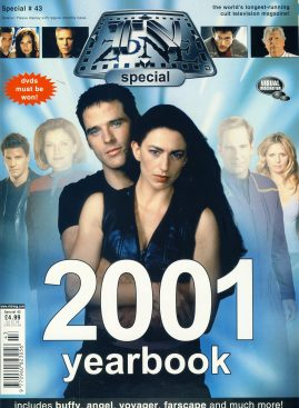 TV Zone Magazine Special #43 2001 Yearbook ref101173 Pre-owned in very good condition. Magazine ONLY