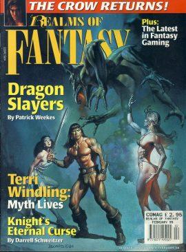 Realms of Fantasy Dragon Slayers Patrick Weekes