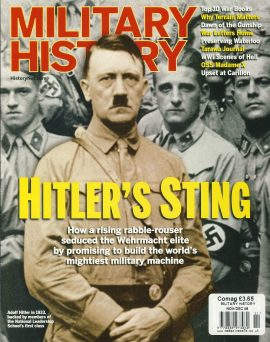 Military History Magazine 2008 HITLER'S STING ref101179 Pre-owned in very good condition. Magazine ONLY